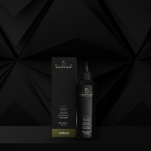 First - Detoxifying Treatment Scalp and Hair | Martom